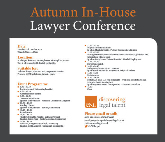 Autumn In House Conference