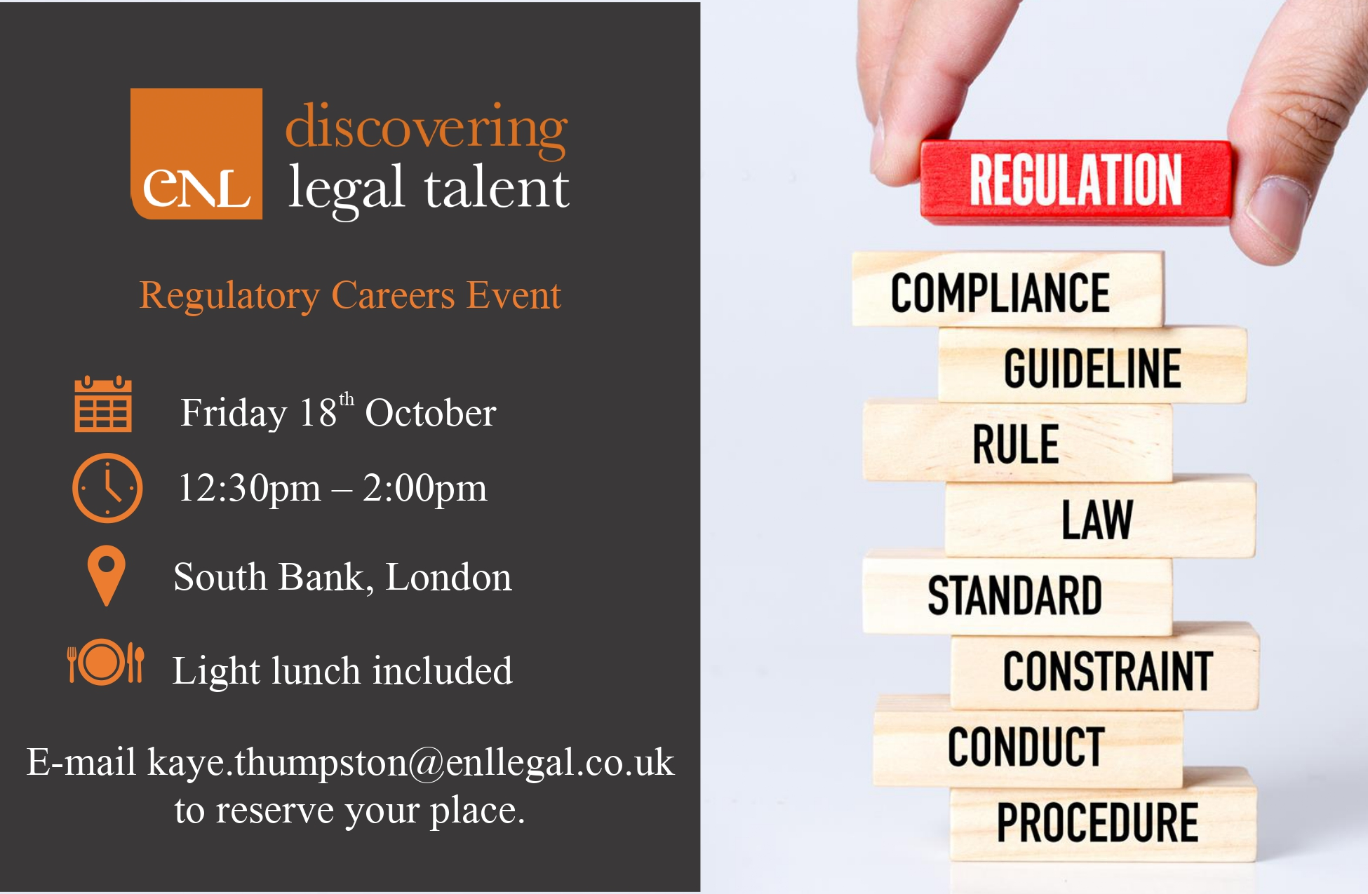 Regulatory Career Event